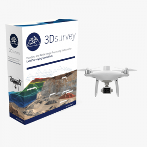 3Dsurvey Phantom 4 multispectral