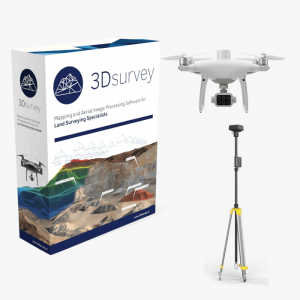 3Dsurvey softver Phantom 4 multispectral