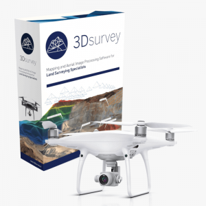3dsurvey softver Phantom 4 Pro