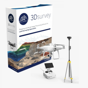 3Dsurvey softver Phantom 4 RTK